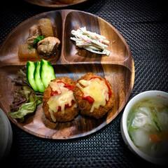 メンチカツ/アレンジレシピ/晩ご飯/料理/おうちごはん/簡単 今日の晩ご飯 は、 メンチカツアレンジ✴…