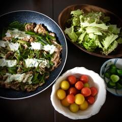 フライパン料理/晩ご飯/料理/おうちご飯/簡単/時短レシピ 昨日の晩ご飯。 またまた我が家の定番メニ…
