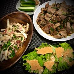 パルメザンチーズ/家庭菜園/エリンギ/牛肉/おうちごはん/晩ご飯/... 今日の晩ご飯 は、 ✴︎牛肉とニラのスタ…