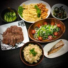 ぬか漬け/牛タン/筍天ぷら/筍ご飯/筍/料理/... 今日の晩ご飯 は、 ✴︎筍ご飯✴︎ ✴︎…