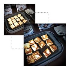 小学生料理/おうちカフェ/フレンチトースト フレンチトースト✴︎ 小5の娘がTikT…