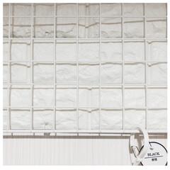 ランドリー収納/洗濯機周り/洗濯アイテム/突っ張り棒/ワイヤーネット/突っ張り棚/... アイデアにかくほどではないコード類の目隠…(5枚目)