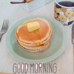 昭和の味/懐かしい味/ホットケーキ/土曜日の朝 昭和なホットケーキ🥞  昔、おかあさんと…