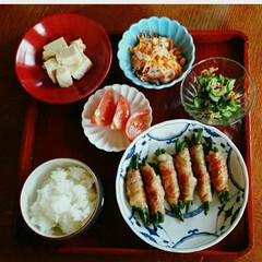 夕食 今日の娘の夕食(^-^)