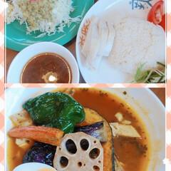 オシャレ/ランチ/おでかけ/おすすめアイテム/暮らし/フォロー大歓迎 昨日のランチ(o^^o)🎵🍴 スープカレ…