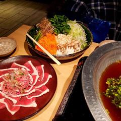 鍋🍲/贅沢/外食/おでかけ/フォロー大歓迎 合鴨鍋🍲 ミーティング‼️