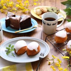 おうちカフェ/手作り/レモンケーキ/美濃焼き/はじめてフォト投稿/フォロー大歓迎/... 瀬戸内の島でレモンを栽培している義父さん…