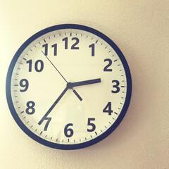 壁掛け時計/時計/ニトリ購入品/雑貨/ニトリ ニトリで新しい時計を買いました!シンプル…