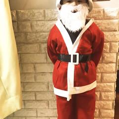 サンタクロース/あわてんぼうのサンタクロース/クリスマス2019/ダイソー/フォロー大歓迎 慌てん坊のミニサンタクロースがやって来ま…