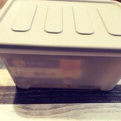 収納ボックス/収納箱/DAISO/ダイソー/収納/暮らし/... ダイソーで蓋付きの収納箱を買いました。3…