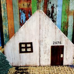 おうち風/デスクラック/フォロー大歓迎/雑貨/100均/セリア/... セリアのデスクラックを二つ合わせて、お家…(1枚目)