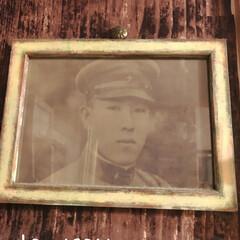 フォトフレームリメイク/あけおめ/フォロー大歓迎/DIY/雑貨/100均/... このイケメン軍人さんは私のおじいちゃん。…