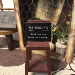 ガーデンプレート/ミニチュア/フォロー大歓迎/雑貨/インテリア/雑貨だいすき こちらも以前雑貨屋さんで買ったものです。…