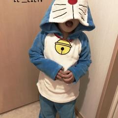 子供/ドラえもんパジャマ/パジャマ/ドラえもん/フォロー大歓迎/ファッション/... 私と息子のお気に入り💕ドラえもんパジャマ…