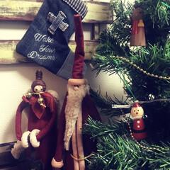 クリスマス雑貨/雑貨屋さん/天使/サンタさん/クリスマス2019/雑貨 今年も昔鎌倉の雑貨屋さんで購入したスリム…