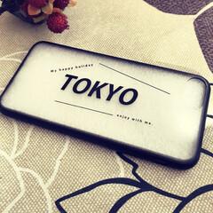 東京/スマホケース/フォロー大歓迎/雑貨/100均/ダイソー/... ダイソーで見つけたスマホケース。東京オリ…