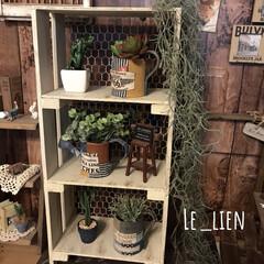 飾り棚DIY/飾り棚/インテリア/DIY/雑貨/家具/... 以前、お友達にオーダー頂いた作品です。ス…