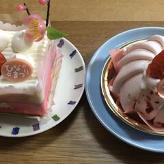 シャトレーゼ/ひな祭り/ピンク 週末恒例シャトレーゼのケーキ🍰またまた買…(4枚目)