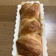 手作りパン 手作りパンいただきました🥐 中にウインナ…
