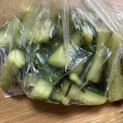 夕飯のおかず/夏野菜 せっかく採ってきた野菜、茄子🍆の揚げ煮に…(2枚目)
