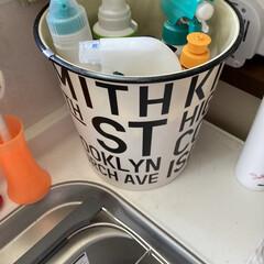ゴミ入れ/掃除アイデア/家事アイデア/洗濯アイデア/料理アイデア/家事を快適に 多分ゴミ入れだと思うんですが、キッチンに…(3枚目)