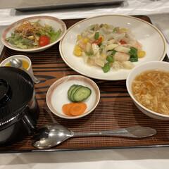 安い/中華/ランチ 今日のお昼ご飯はビジネスホテルみたいホテ…(1枚目)