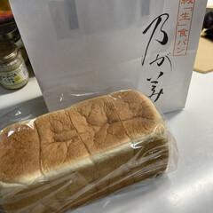 生食パン 久々にのがみのパン買いました🍞 たまに食…