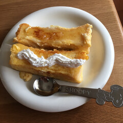 生食パン 乃が美のパンでフレンチトースト作ってみま…