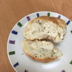 食事情 ホットケーキミックスを使って作ったパンも…(2枚目)