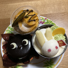 ハロウィンケーキ/シャトレーゼ シャトレーゼでケーキ買いました。可愛くて…(3枚目)