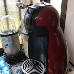 コーヒーマシン またまた家電投稿ですみません😅 もうかな…