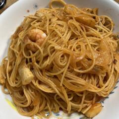 スパゲティナポリタン 久々に作ったナポリタン🍝 食べたかったの…(1枚目)
