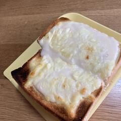 美味しい/食べずらい/簡単/クロックムッシュ クロックムッシュ風なパンを作りました🍞 …(1枚目)
