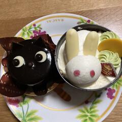 ハロウィンケーキ/シャトレーゼ シャトレーゼでケーキ買いました。可愛くて…(2枚目)
