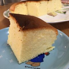 手作りお菓子 昨日台湾カステラ、今日の方がきめ細かくな…