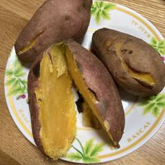 焼き芋/甘い/安納芋 安納芋です。 いつものように炊飯器で炊い…(2枚目)