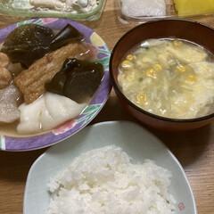おでん 晩ご飯😃 寒いからおでん🍢作りました🍢 …(1枚目)