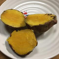 焼き芋 安納芋です。炊飯器で作ってからグリルで焼…