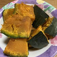 かぼちゃの煮物/簡単/晩ご飯 晩ご飯のおかずに作ったカボチャの煮付け🎃…