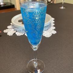 グラス/お気に入り 綺麗なグラス🥂