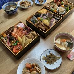 お節料理/新年 明けましておめでとうございます㊗️ 今年…