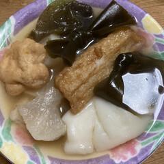 おでん 晩ご飯😃 寒いからおでん🍢作りました🍢 …(2枚目)