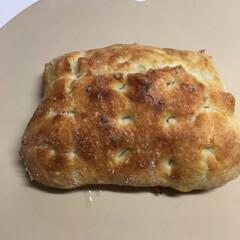 手作りパン フォッカッチャです。焼いてみました。