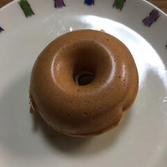 焼きドーナツ 焼きドーナツ🍩を作りました。 ふかふかで…(2枚目)