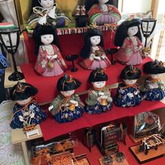 木目込み人形/手作り/お雛様 いったい何年ぶりに出したのかわからないく…(2枚目)