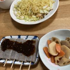 味噌田楽/ダイエット 最近マジ体重増加💦😱 夜は味噌田楽を食べ…(1枚目)
