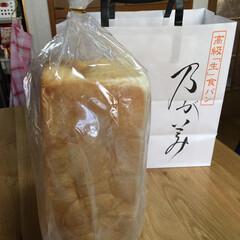 高級生食パン/高級生 乃が美のパン久々買いました😁相変わらず全…
