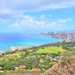 絶景/登山/ハワイ/令和元年フォト投稿キャンペーン/おすすめアイテム/令和の一枚/... 先日旅行したハワイで ダイアモンドヘッド…
