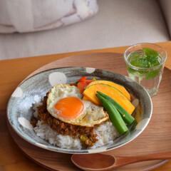 手作りカレー/昼ごはん/うちごはん/おうちごはんクラブ/令和元年フォト投稿キャンペーン/LIMIAファンクラブ/... ある日の昼ごはん、 あり合わせ野菜を集め…