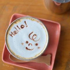 くらしを楽しむ/おうちカフェ/コーヒー/おうちラテ/エスプレッソマシン/カフェラテ/... おうちラテ いろいろd(^_^o)  う…